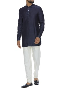 criss-cross-embroidered-short-kurta