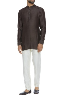 criss-cross-detail-shirt-kurta