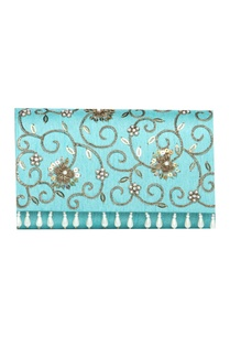 floral-handwork-pearl-zardozi-clutch-with-chain