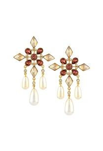 suneet-varma-floral-drop-earrings