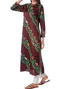 printed-kurta-with-side-button-placket