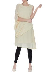 cotton-silk-draped-kurta