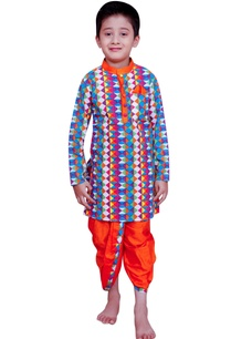 printed-kurta-with-dhoti-pants