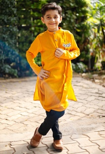 cowl-pleated-kurta-with-churidar