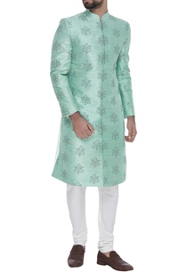 raw-silk-embroidered-sherwani-with-trousers