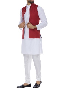 nehru-jacket-with-concealed-button-placket