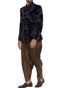 velvet-embroidered-bandhgala-with-patiala-pants