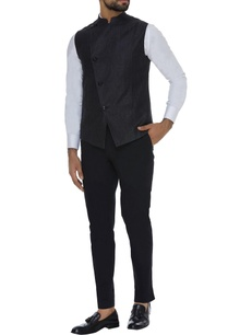 cotton-shirt-trousers-paired-with-silk-waistcoat
