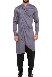 draped-kurta-with-salwar