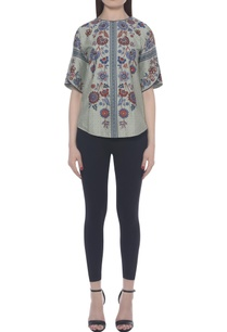 hand-embroidered-printed-top