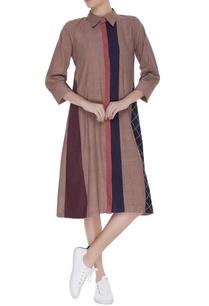 collared-linen-midi-dress
