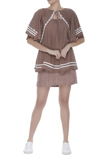 flared-sleeves-hand-applique-blouse