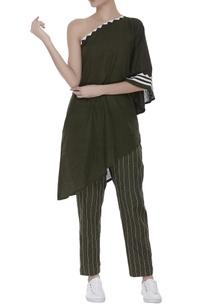 one-shoulder-linen-blouse