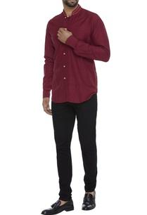 organic-ahimsa-silk-nehru-collar-shirt