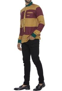 dual-color-ahimsa-silk-shirt