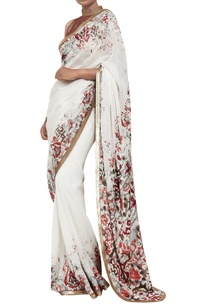 ikat-sari-paired-with-gold-sheeted-blouse