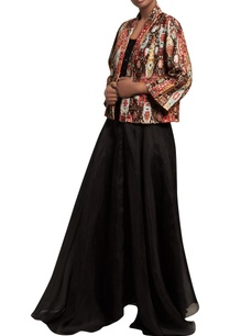 sequin-embroidered-top-with-skirt-cambric-jacket