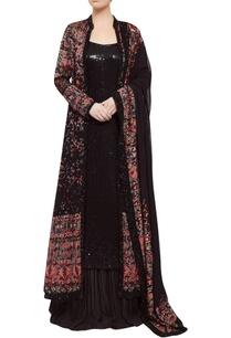 sequin-embroidered-tunic-killim-jacket-lehenga