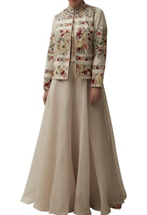 floral-embroidered-short-jacket-with-lehenga-blouse