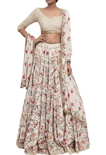 floral-embroidered-organza-lehenga-with-sequin-blouse-dupatta