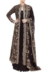jamavar-floral-embroidered-jacket-lehenga-set