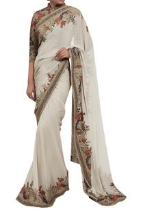 chiffon-kashmiri-floral-embroidered-sari-with-blouse