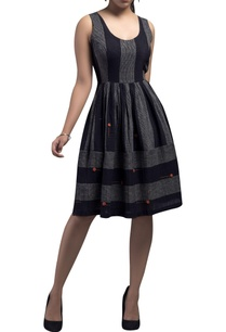 striped-paneled-dress-with-floral-embroidery