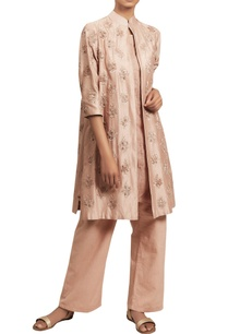 embroidered-jacket-kurta-with-flared-pants