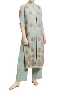 embroidered-kurta-jacket-with-inner-and-pants