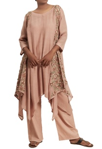 asymmetric-machine-embroidered-kurta-set