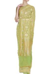 pure-banarasi-georgette-sari-unstitched-blouse