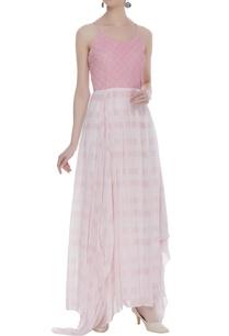 textured-asymmetric-maxi-dress