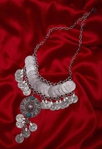 coin-necklace-encrusted-with-pendant-stones