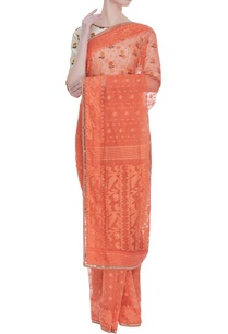 sari-with-floral-embroidered-blouse