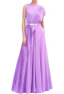 georgette-pleated-floor-length-gown