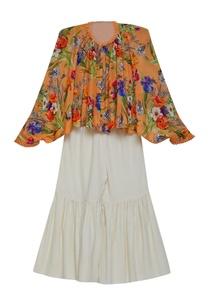 printed-asymmetric-tunic-with-sharara-pants