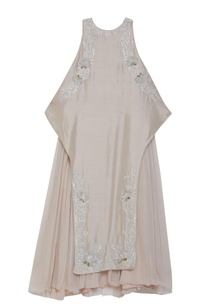 pleated-embroidered-dress