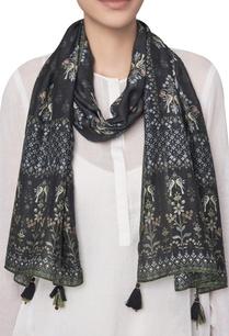 forest-motif-digital-printed-modal-silk-scarf