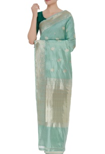 pure-mulberry-silk-banarasi-rose-sari-unstitched-blouse