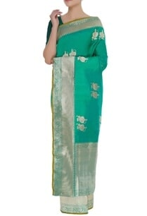 woven-pure-mulberry-silk-sari-with-unstitched-blouse
