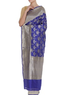 chandelier-motif-banarasi-sari-with-unstitched-blouse