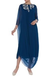 cowl-draped-tunic-with-embroidered-yoke