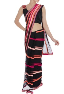 net-handmade-ribbon-sari-with-embroidered-blouse