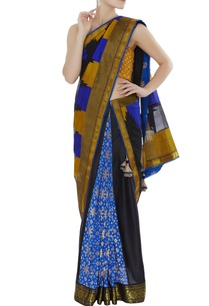 chanderi-sari-with-unstitched-blouse-fabric