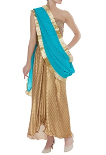 drape-sari-with-skirt-unstitched-blouse-fabric