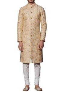 embroidered-sherwani-with-kurta-churidar