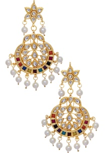colorful-kundan-maangtikka-set