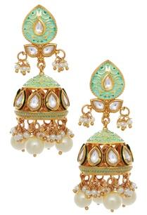 meenakari-jhumka-earrings-with-pearl-drops