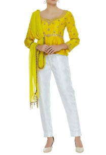 embroidered-top-with-attached-dupatta