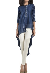 asymmetric-embroidered-tunic